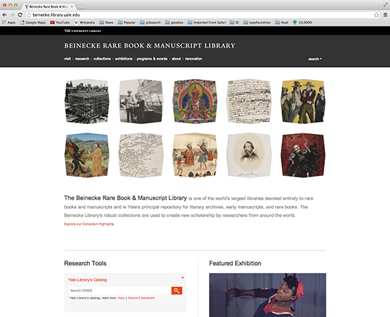 beinecke website