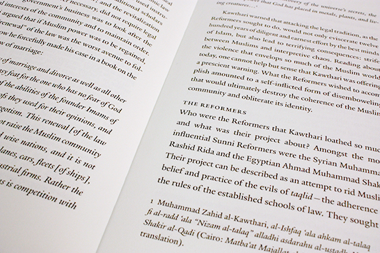 Inside spread and typeface